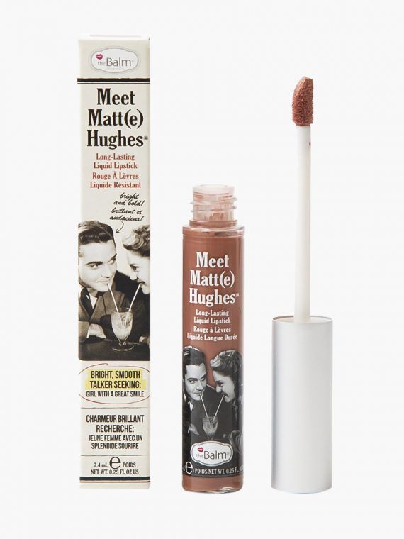 theBalm Meet Matte Hughes Long Lasting Liquid Lipstick - new