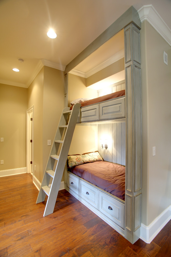 Innovative Bunk Bed With Stairs In Kids Traditional With