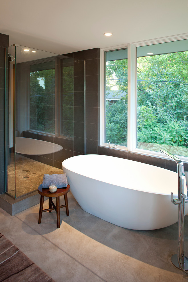 Dazzling Tub Transfer Bench In Bathroom Contemporary With