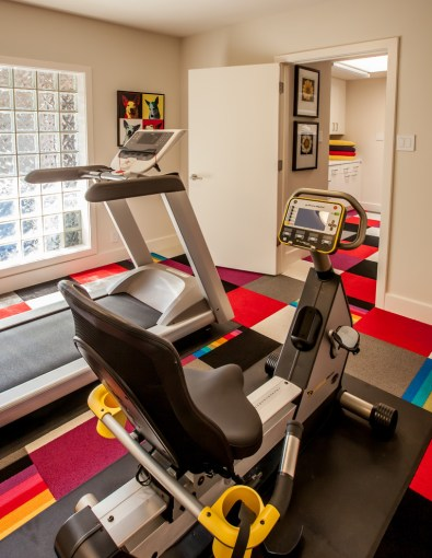 Superb marcy home gymin Home Gym Contemporary with Exquisite     Superb marcy home gym in Home Gym Contemporary with Exercise Room next to  Basement Carpet alongside