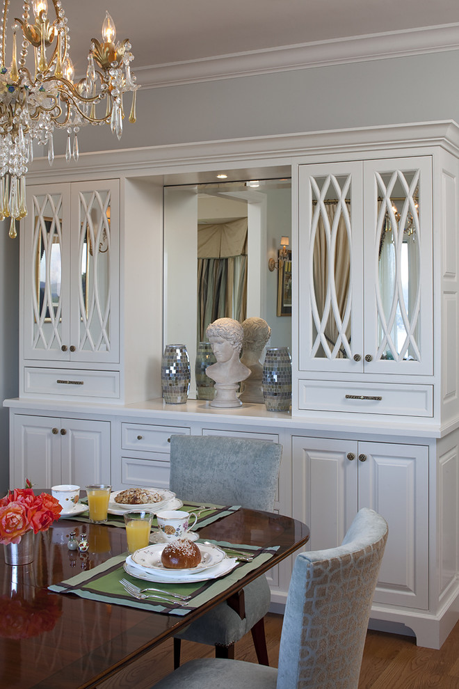 Inspired Buffet Hutch In Dining Room Traditional With Kitchen Hutch Next To Buffets Alongside
