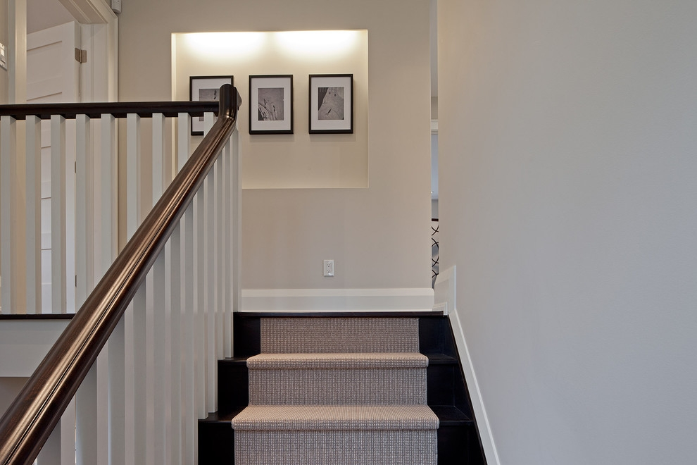Inspired Stair Treads Carpetin Staircase Traditional With Graceful | Stair Treads For Wood Stairs | Anti Slip Stair | Stair Nosing | Stair Risers | Hardwood Flooring | Examples Terramai