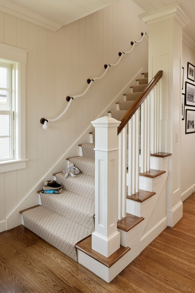 Runners For Stairs Staircase Transitional With Contemporary | Solid Color Stair Runners | Modern Stair | Stair Carpet Runner | Washable | Rubber Backed | Self Adhesive