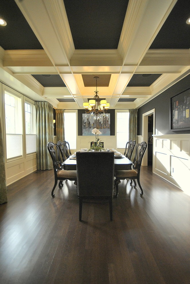 Edmonton Images Of Coffered Ceilings Dining Room