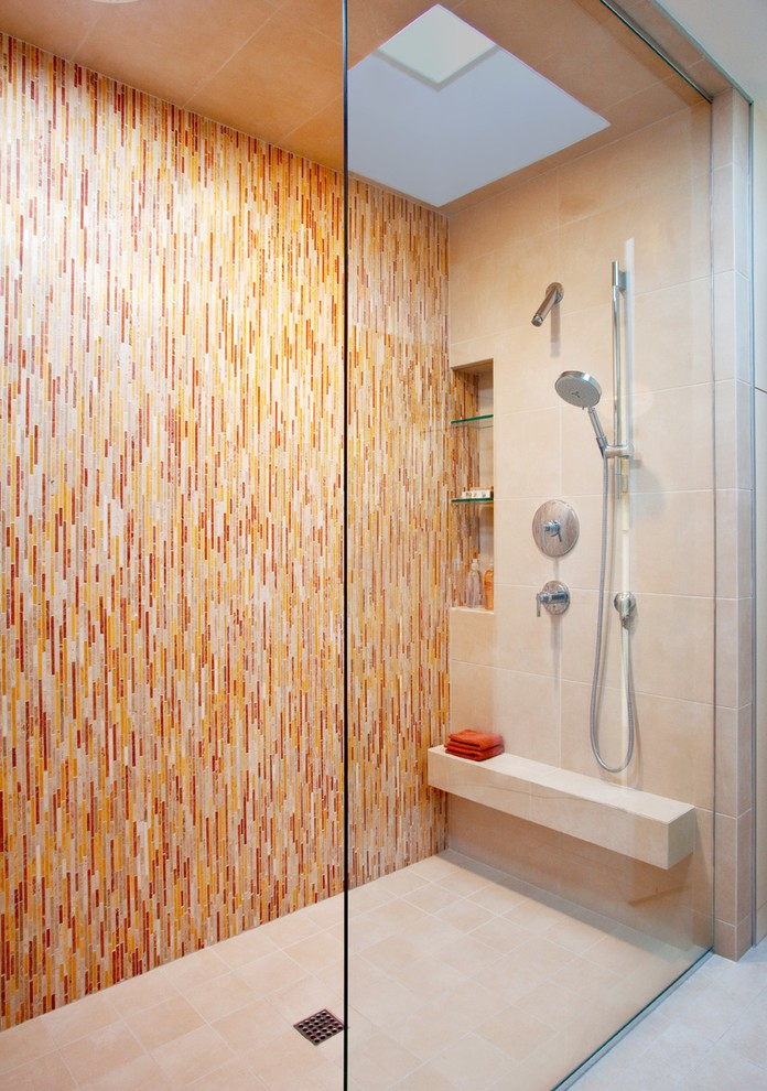 Los Angeles Marble Corner Shower Shelf Bathroom
