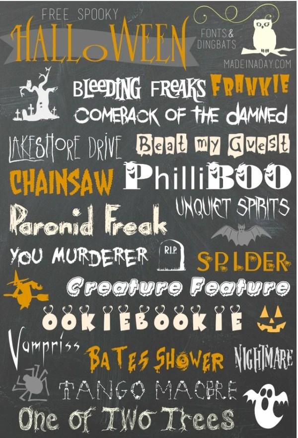 free halloween fonts # 7