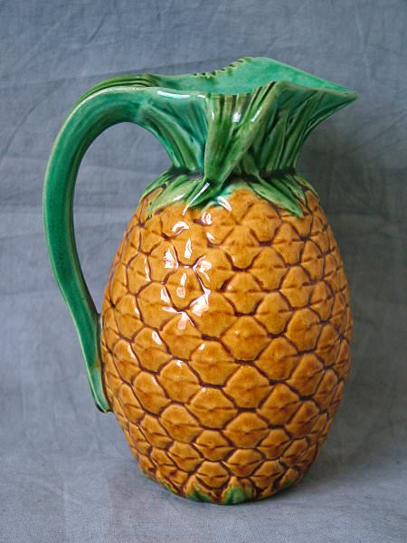 Small Minton Majolica Pineapple Pitcher