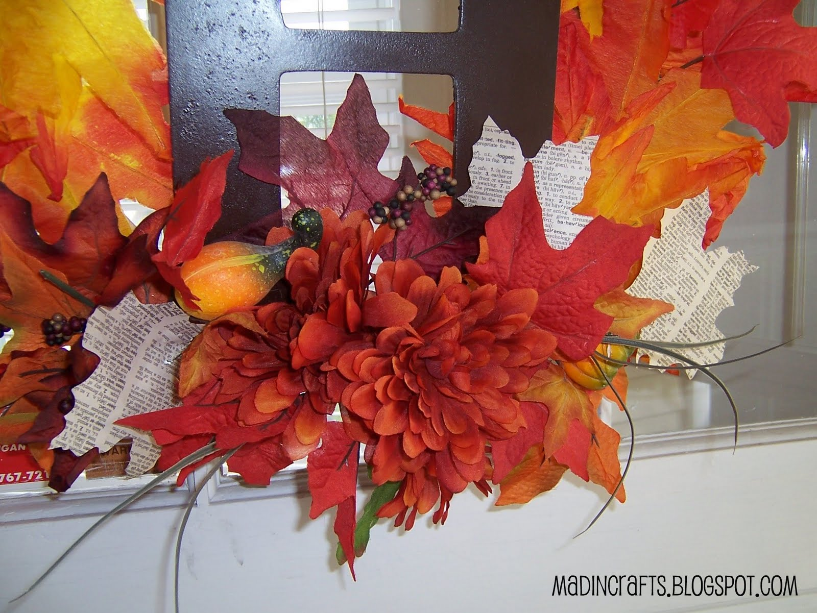 9 Paper Leaf Decorations For Thanksgiving Round Ups Mad In