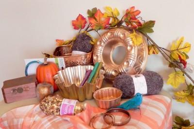 Using a Color Palette to Organize Seasonal Decor
