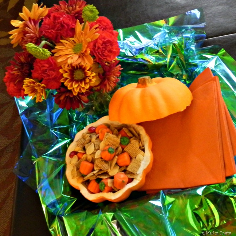 Pumpkin Party Food