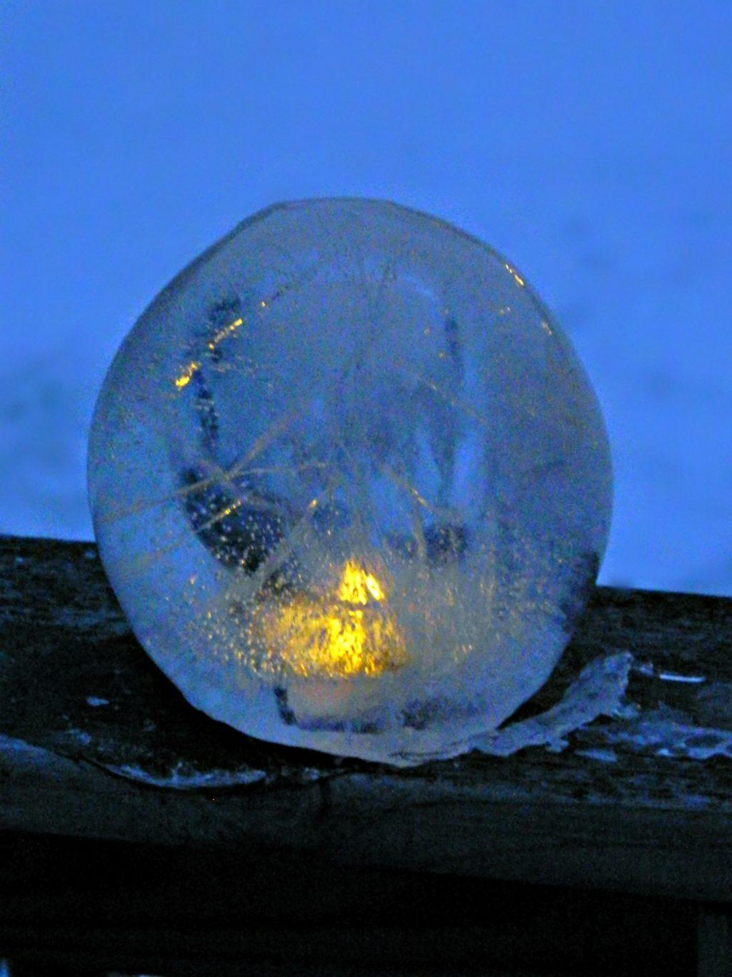DIY Fire & Ice Lanterns