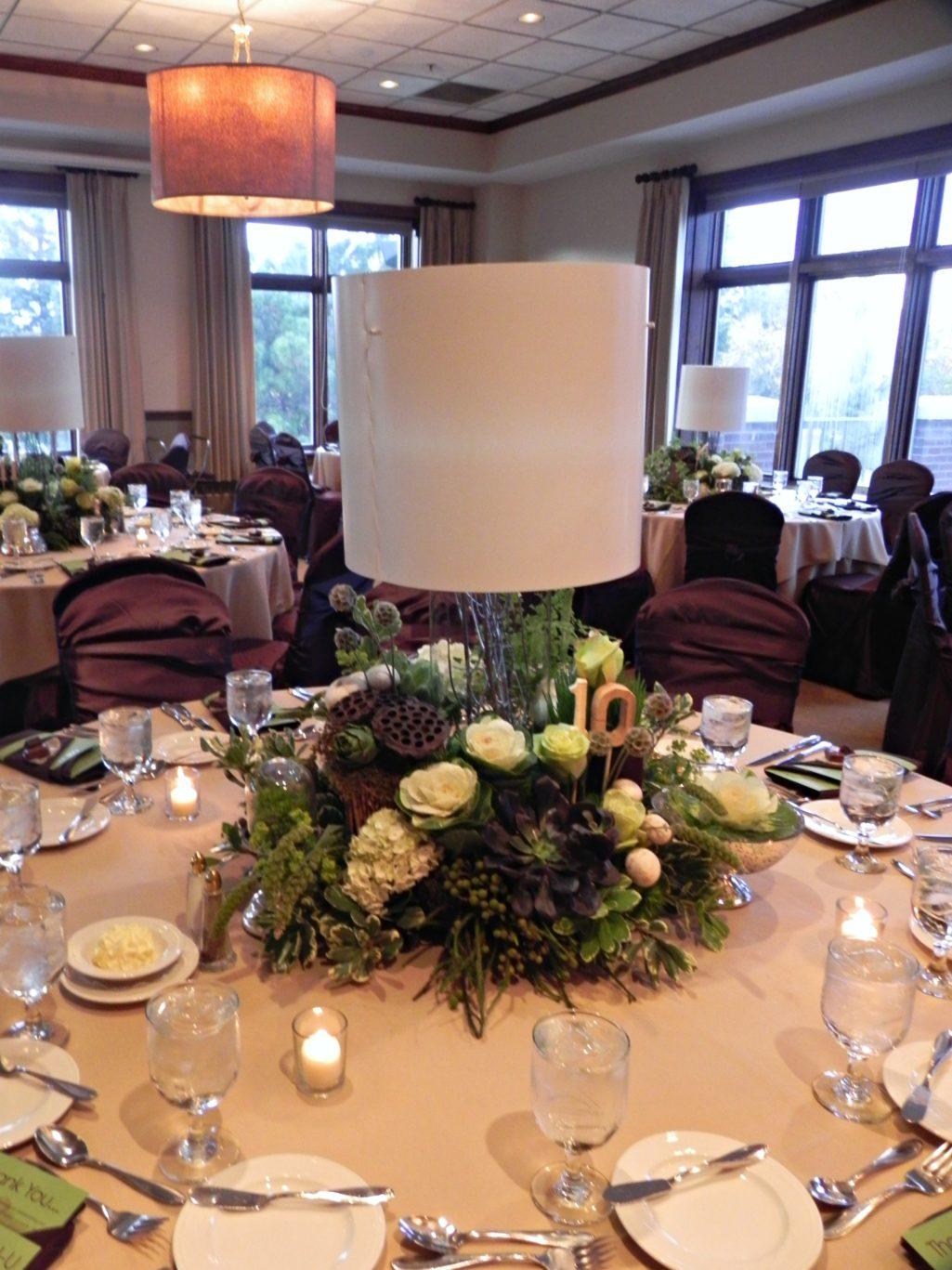 Woodsy Wedding Centerpiece