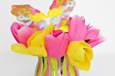 Fashion Designer Inspired Spring Vase
