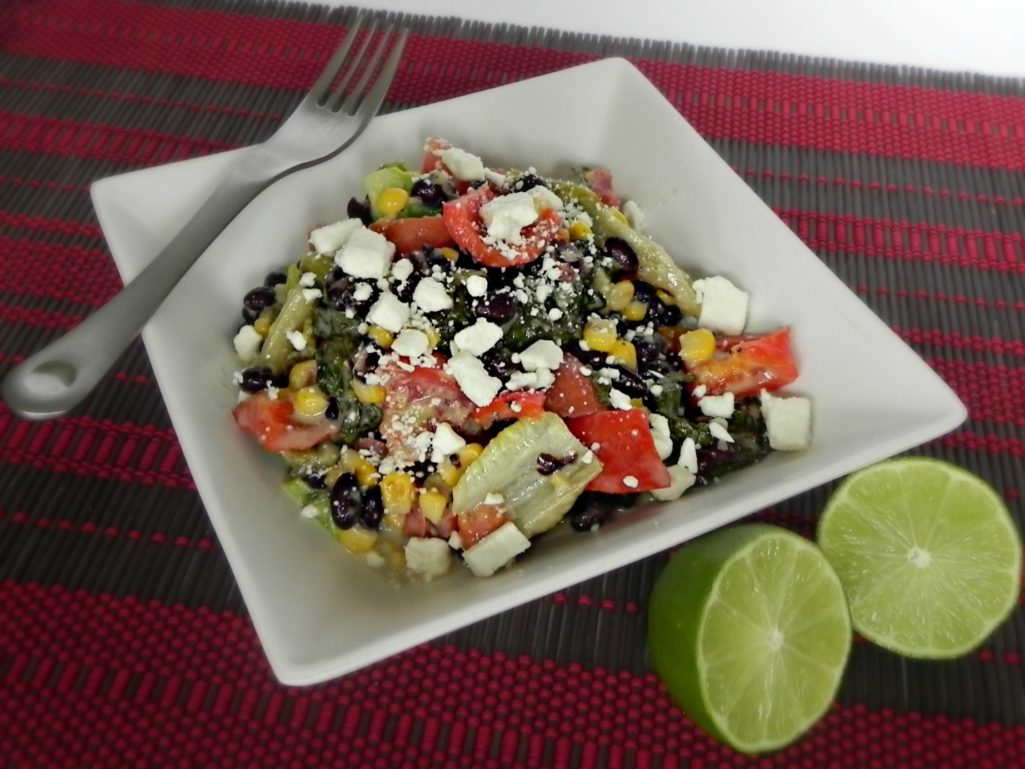 Honey-Lime Grilled Chopped Salad