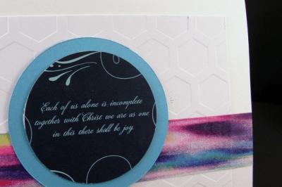 Make a Wedding Card from the Wedding Invitation