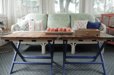 X-Leg Coffee Table Hack
