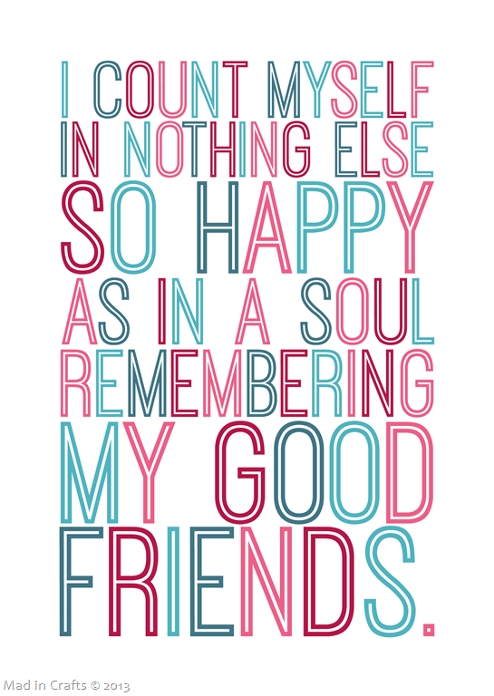 Colorful Shakespeare Quote graphic