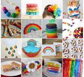 Rainbow Treats and Crafts
