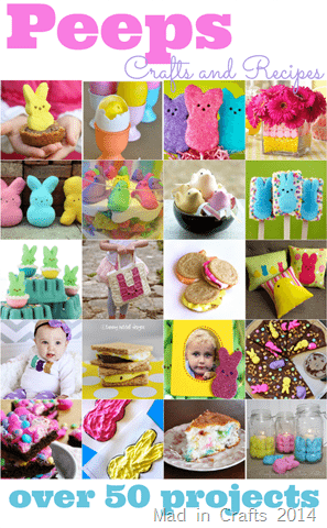 Over 50 Peeps Projects - Mad in Crafts