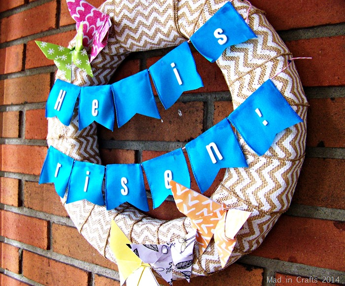 Cheerful Easter Wreath
