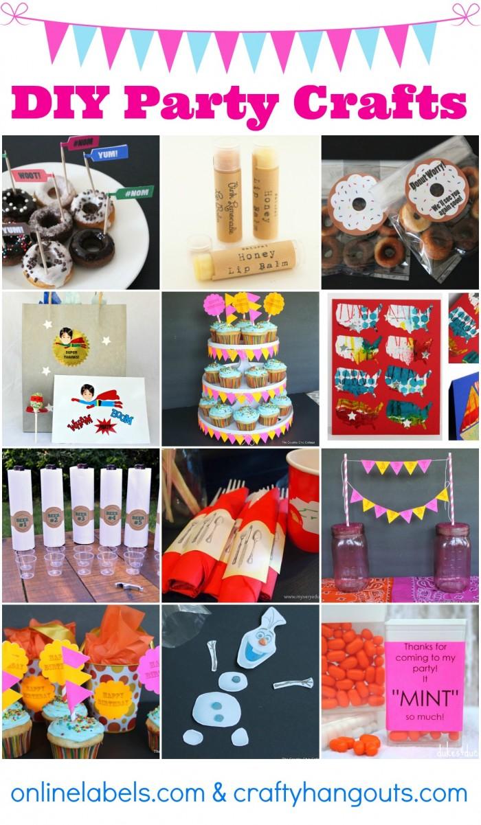 DIY Party Crafts