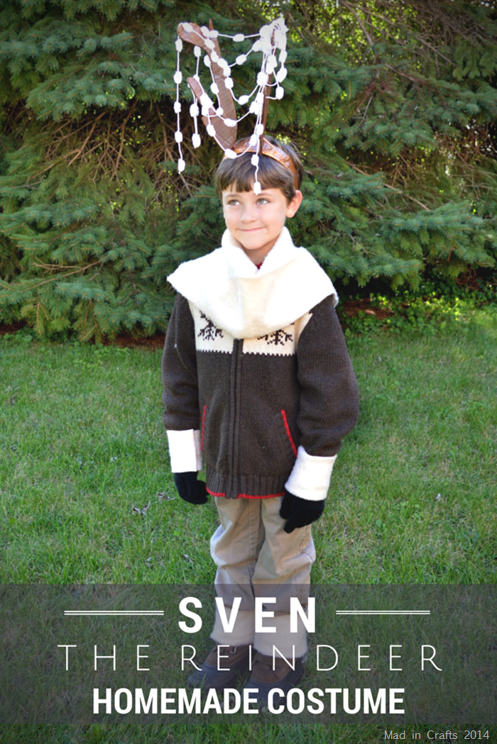 Homemade Sven the Reindeer Costume