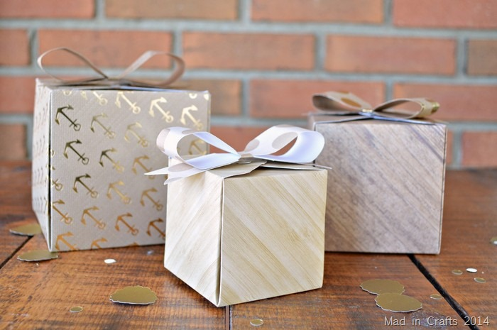 memory keeper punchboard boxes