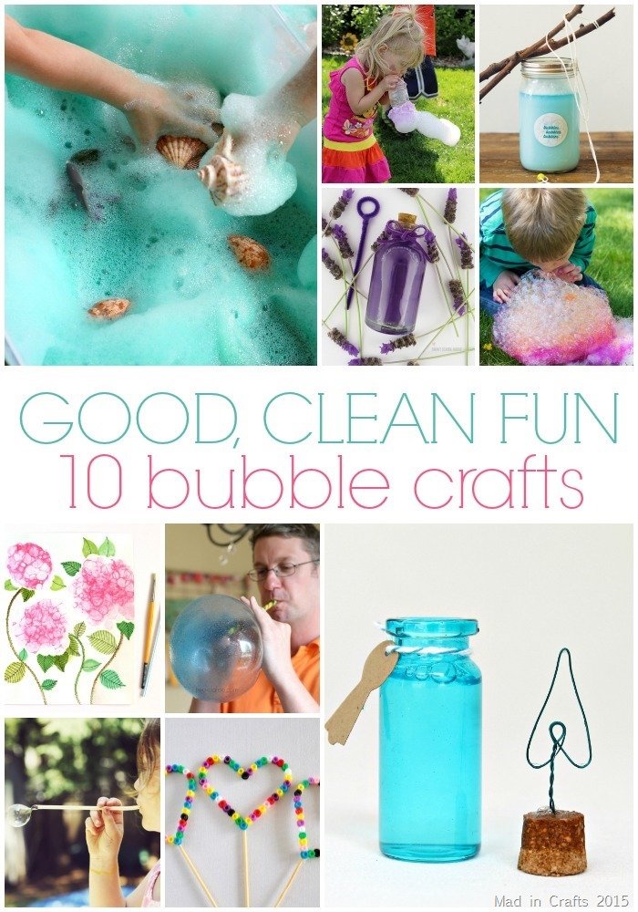 10 Bubble Crafts for Summer
