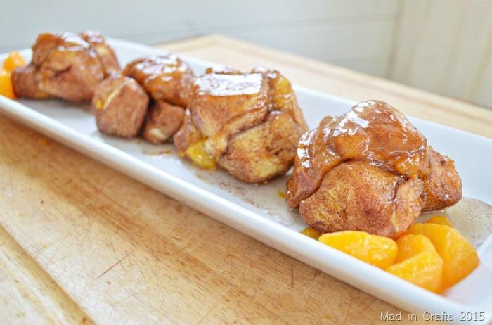 Cinnamon Orange Monkey Bread