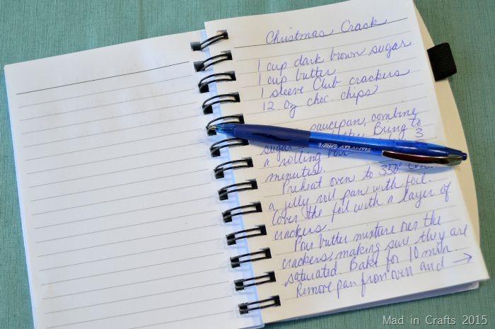 Handwriting Recipes