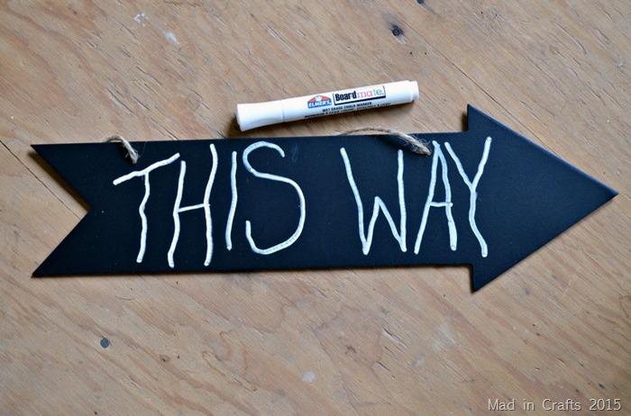 chalkboard arrow