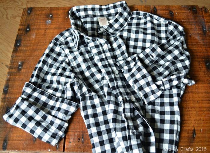 cuffed flannel