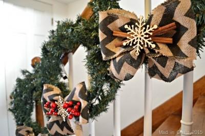 RUSTIC CHRISTMAS WREATH TRIO