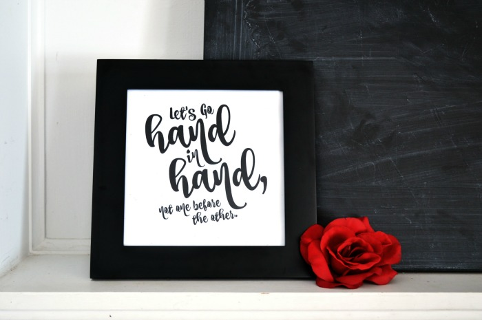 HAND LETTERING STYLE SHAKESPEARE PRINTABLES