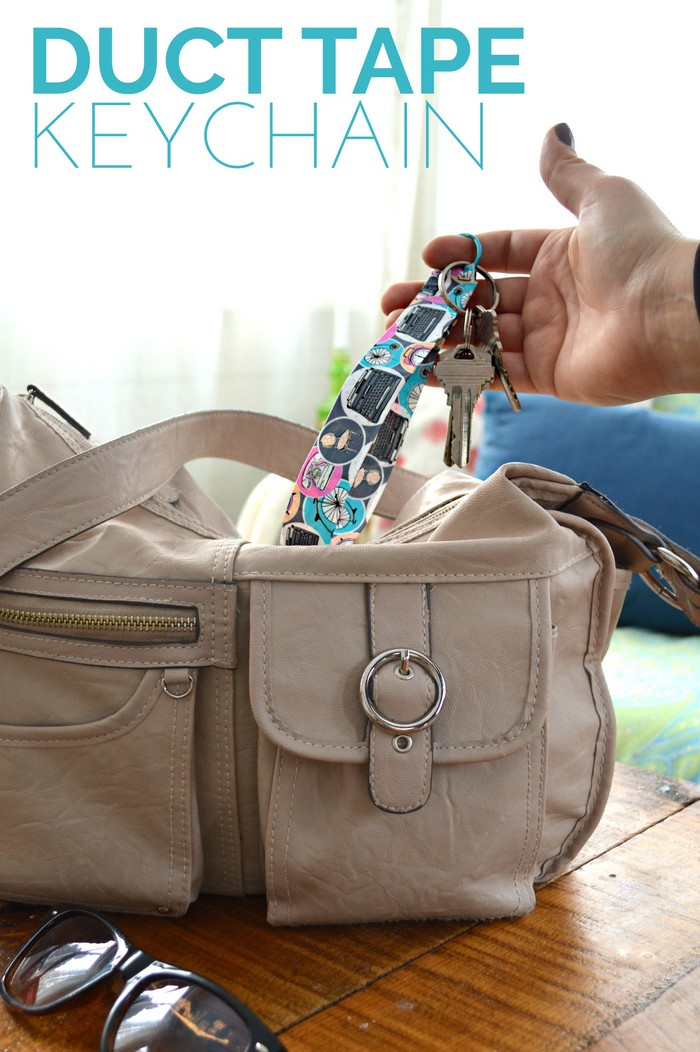 DIY Duct Tape Keychain Tutorial
