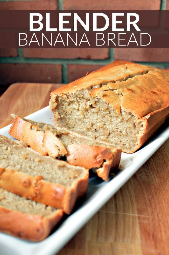 Blender Banana Bread Recipe