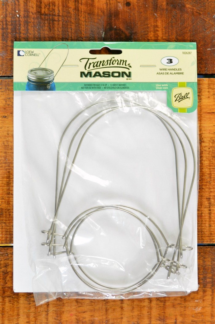 Mason Jar Wire Handles