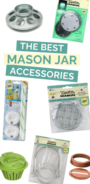 MIXING AND MATCHING MASON JAR ACCESSORIES