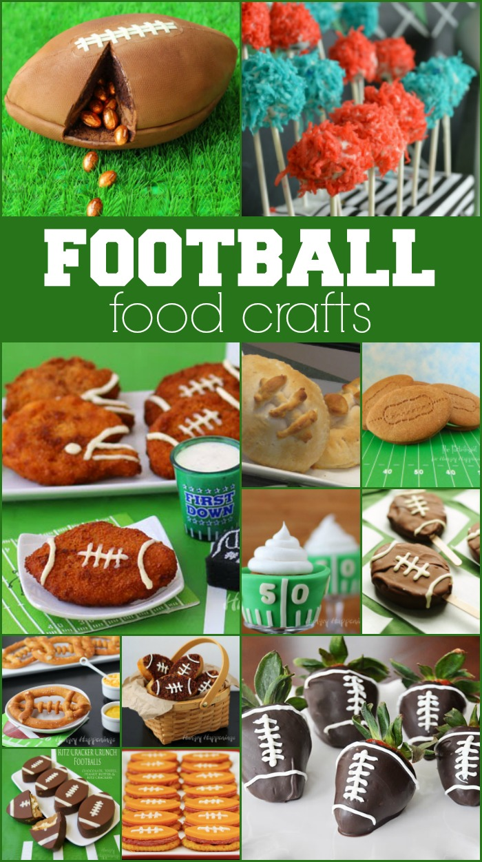 Football Food Crafts