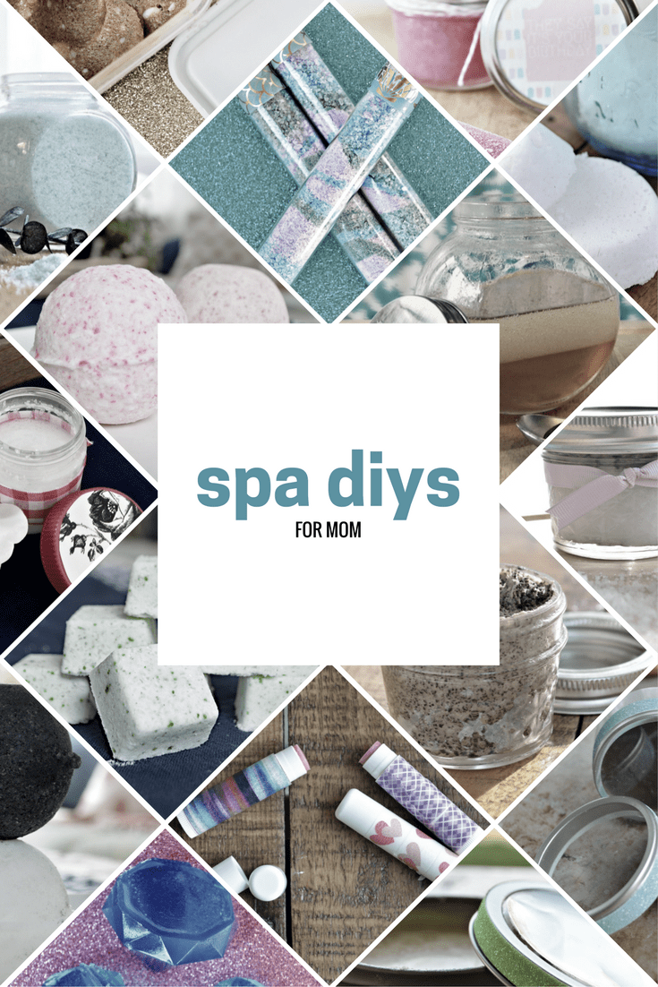 18 HOMEMADE SPA PRODUCTS FOR MOM