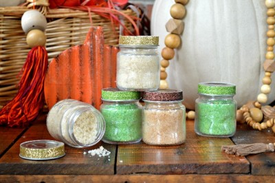 FALL SCENTED BATH SOAKING SALTS