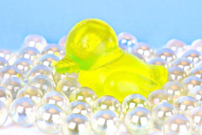 RUBBER DUCKY JELLY SOAP TUTORIAL
