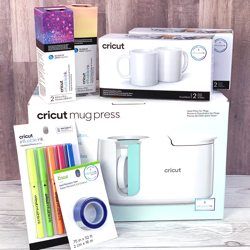 Cricut Mug Press and Accessories Giveaway