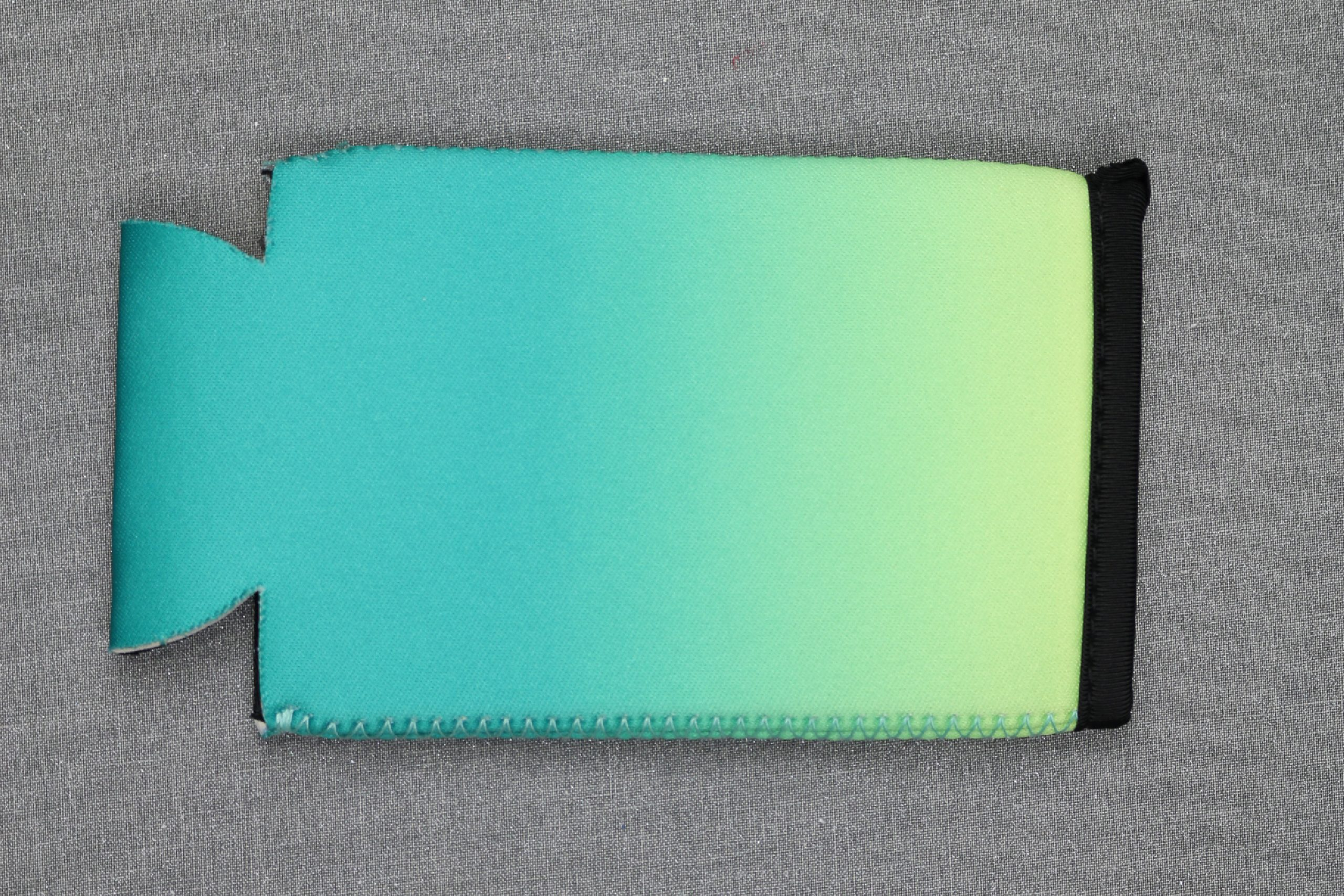 Ombre slim can koozie on an EasyPress mat