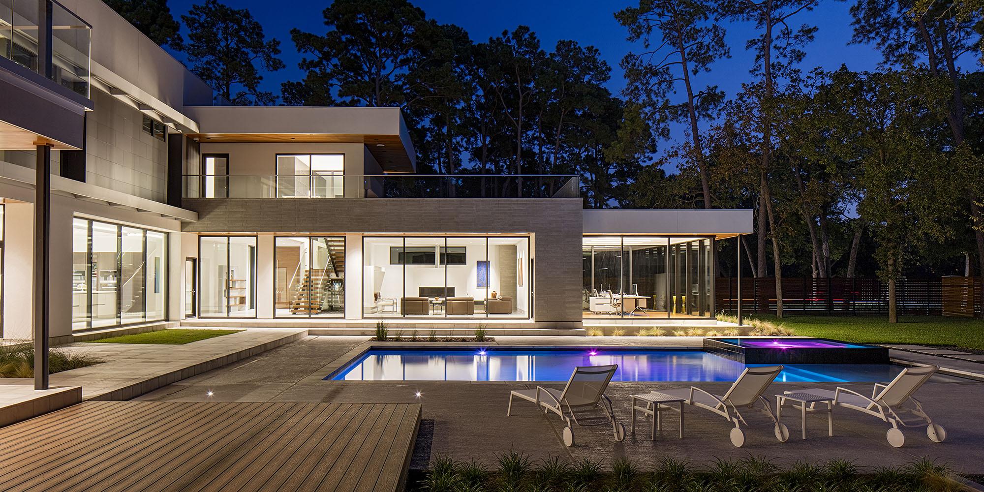 Best Kitchen Gallery: Ma Ds Modern Home Tour Houston Sept 24 2016 of Modern Home Builders Houston  on rachelxblog.com