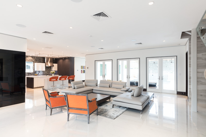2017 Houston MA DS Modern Home Tour   This is an incredible transformation of a 2003 post modern style residence   into an updated modern contemporary home  The homeowners did not want to  tear it