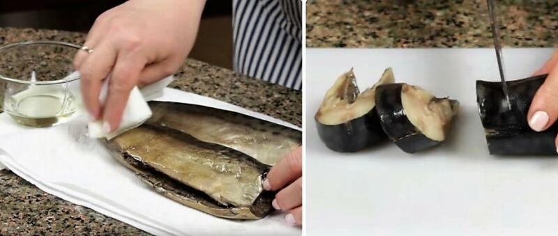 Mackerel muối ở nhà rất ngon