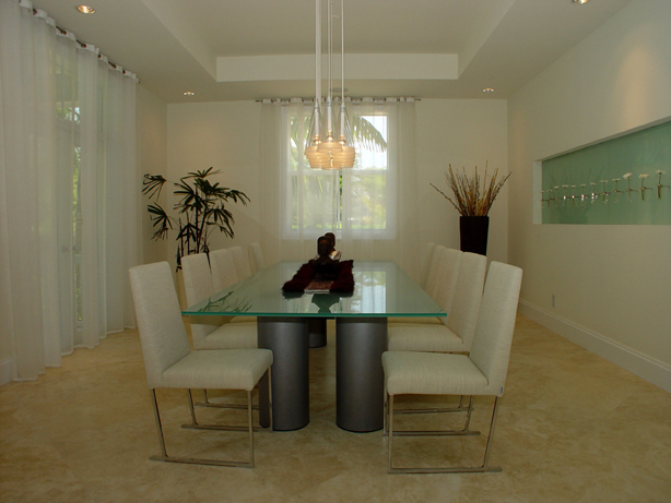 Dining Room Interior Design Services Dining Room Interior Designers Miami