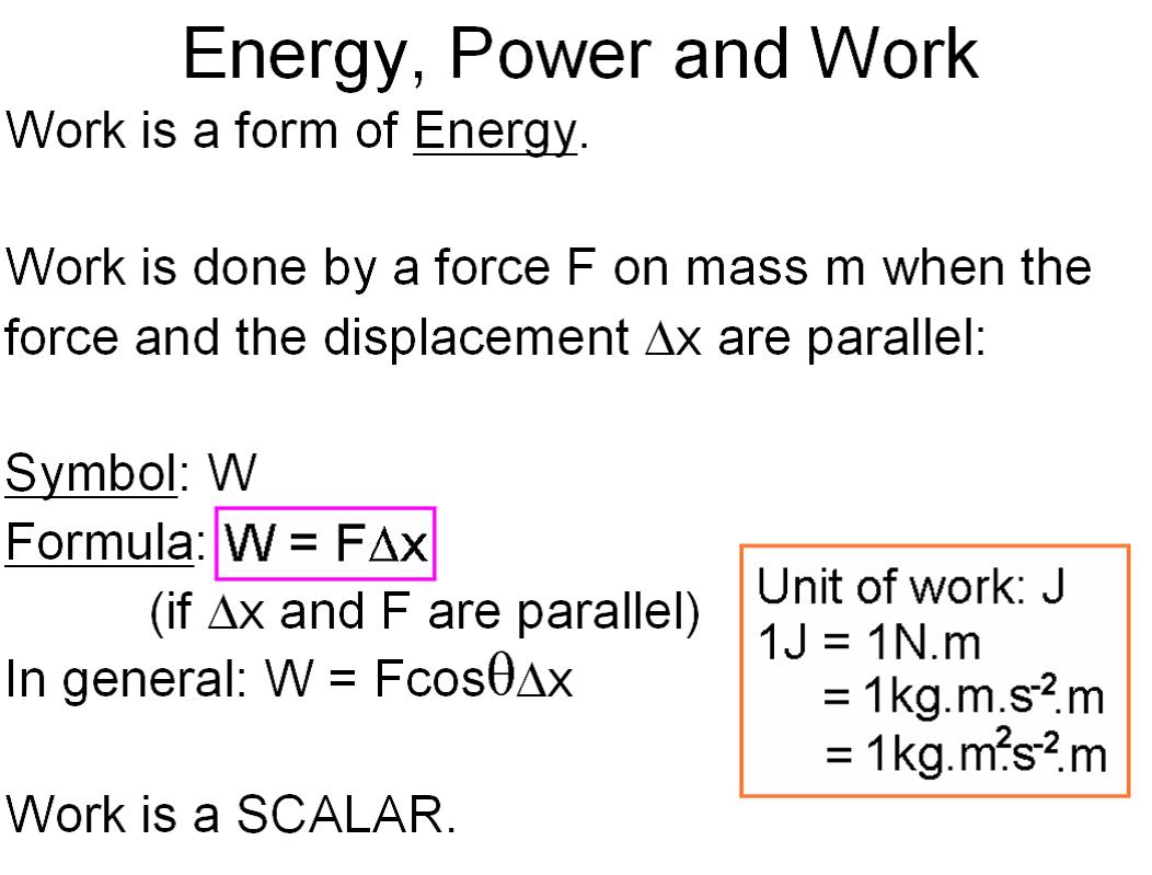 W K Energy Nd Power Physic L Sciences Bre K 1 0
