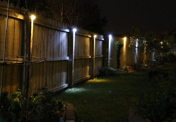 Fence Lights Hang Solar